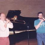 Mike Hall with Christian Lindberg